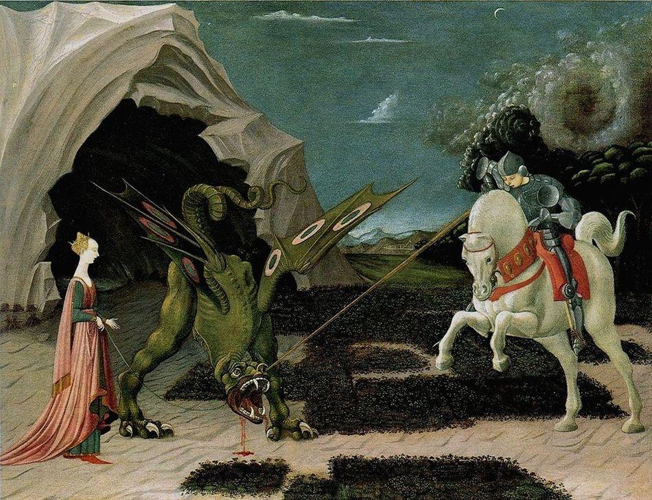 188a83bb88b4 Paolo Uccello San Giorgio e il drago