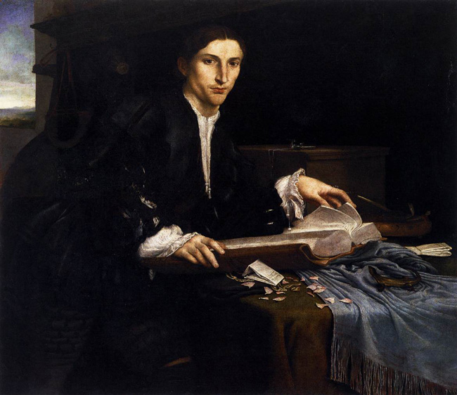 retrato del Pier Francesco Orsini, duque de Bomarzo